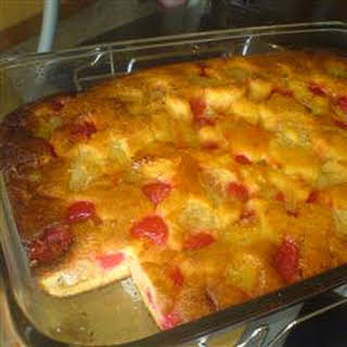 Pineapple Cobbler.