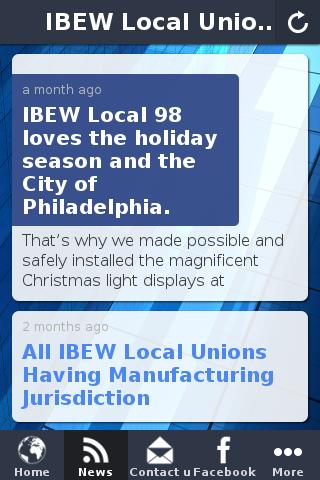 【免費商業App】IBEW Local Union 98-APP點子