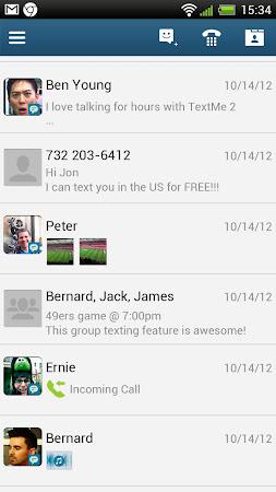 Text Me!  Free Texting & Call 2.8.8 screenshot 13546