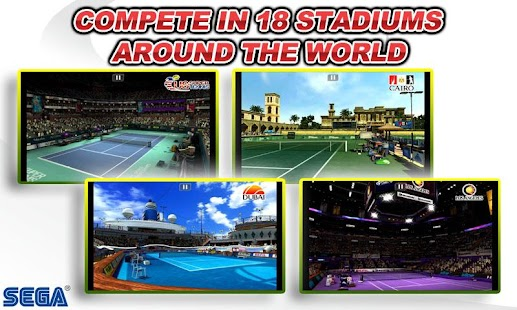 Virtua Tennis™ Challenge Capture d'écran
