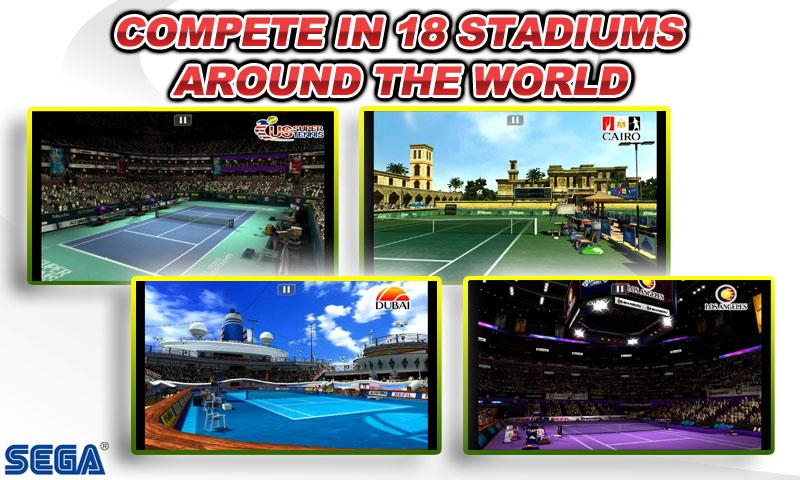 Virtua Tennis™ Challenge screenshot #4