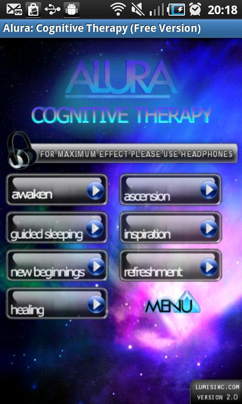 Alura: Free Cognitive Therapy - screenshot