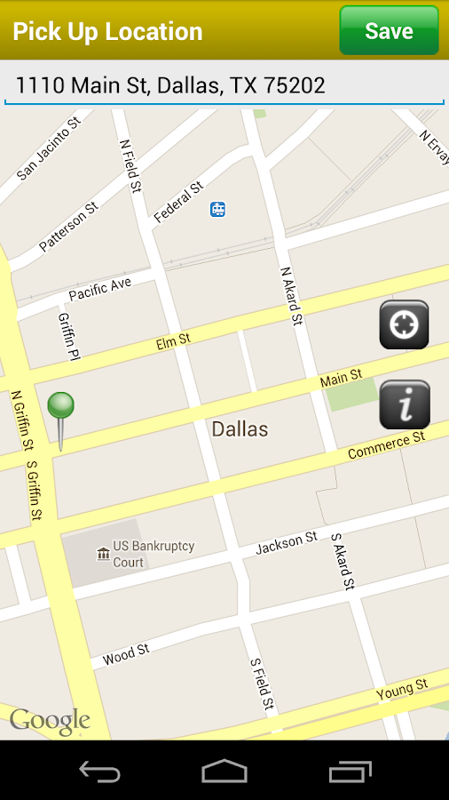 Yellow Cab Dallas Fort Worth - screenshot