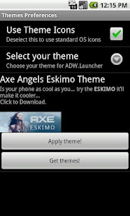 Axe Angel Eskimo Theme- screenshot thumbnail