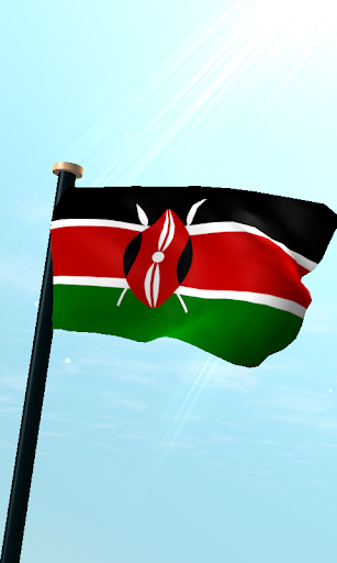 肯尼亞旗3D免費動態桌布