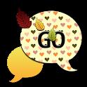 GO SMS THEME/FallingHearts4U icon