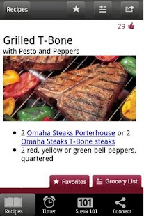 Omaha Steaks Steak Time - screenshot thumbnail