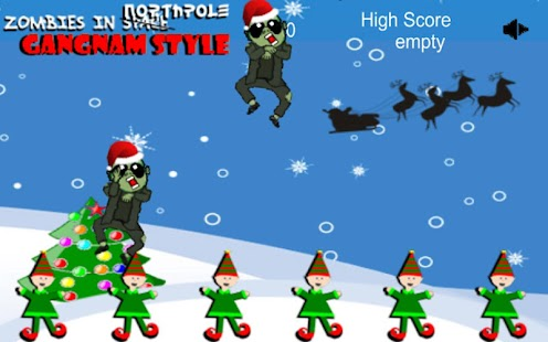 Zombies in. XMAS Gangnam Style - screenshot thumbnail