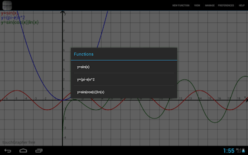 touchGrapher screenshot