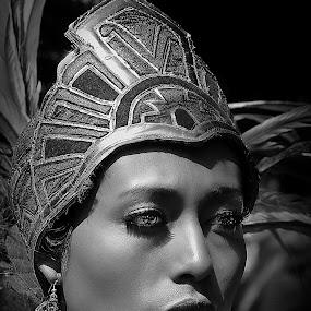 Donna Azteca by Giovanni Bartolomeo - People Portraits of Women ( giobbyx )