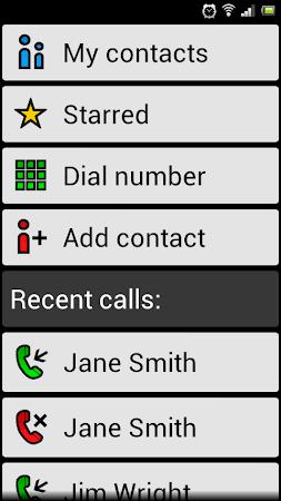 BIG Launcher Easy Phone DEMO 2.5.7 screenshot 446475