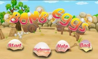 Screenshot of Bomb Eggs