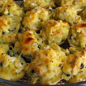 Potatoes Stuffed with Cod