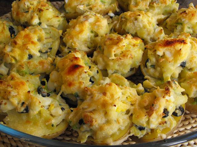 Potatoes Stuffed with Cod Recipe