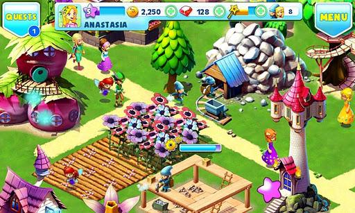 لعبة بناء القرية اندرويد Fantasy