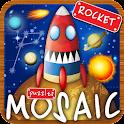 Пазлы игра полет на ракете