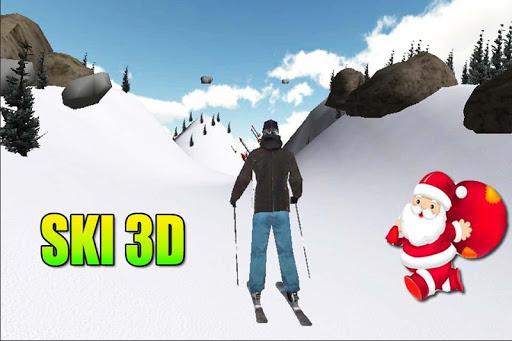 滑雪3D - 聖誕節挑戰