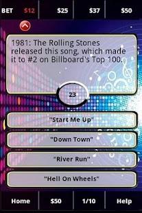 80s Rockband FunBlast! Trivia- screenshot thumbnail