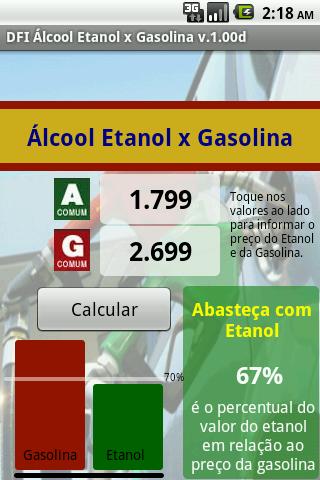 【免費財經App】DFI Alcool Etanol ou Gasolina-APP點子