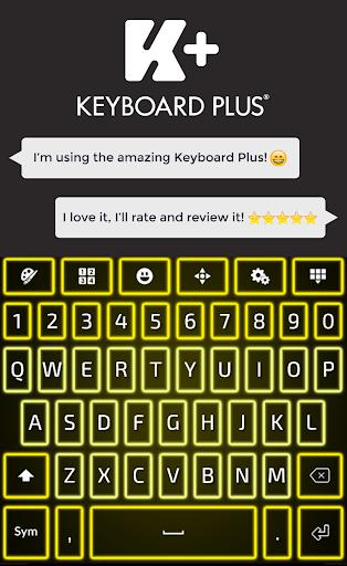 Neon Yellow Keyboard
