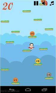 Jokowi Jumping