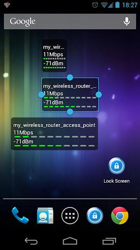 WiFi狀態(連線速度)監察器