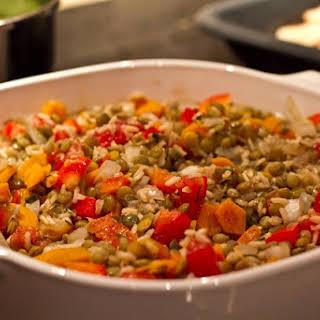 Lentil Rice Casserole.