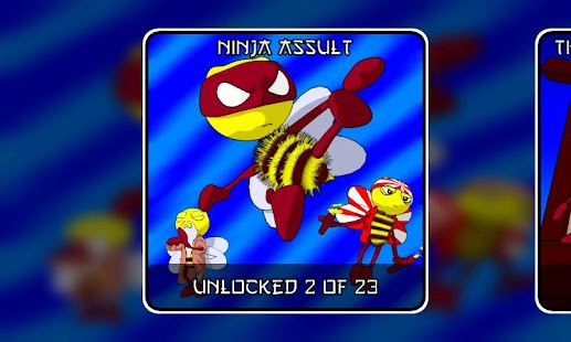 Ninja Bees (free)- screenshot thumbnail
