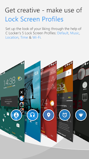 C Locker Pro (Widget Locker) Screenshot