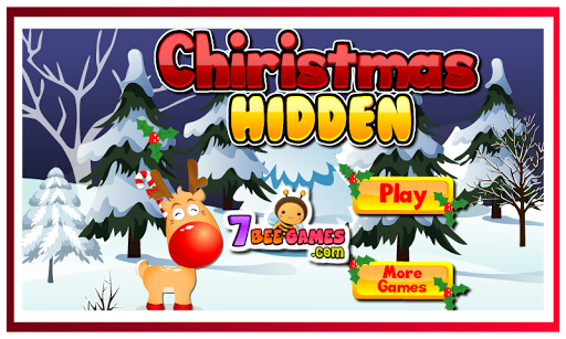 Chiristmas-Hidden Object game
