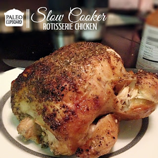 Paleo Slow Cooker Rotisserie Chicken