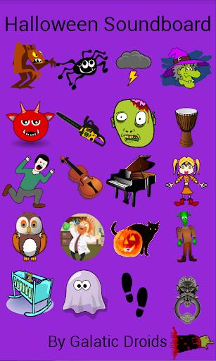 Scary Halloween Soundboard