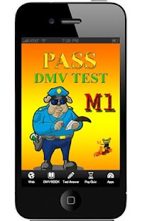 DMV Test M1 M2 easy A  pass - screenshot thumbnail
