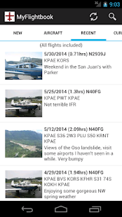 MyFlightbook for Android- screenshot thumbnail