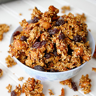Honey Nut Quinoa Granola