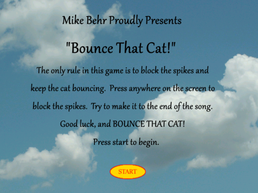 Bounce That Cat