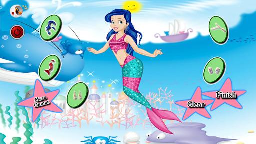 美人魚遊戲對於女孩