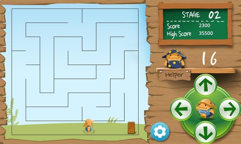 Maze Puzzle Deluxe- screenshot