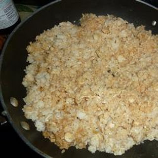 Roasted Garlic Teriyaki Fried Rice with Chicken