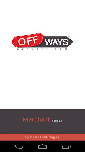 Offways Merchant App