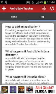 AndroSale Tracker - Wishlist - screenshot thumbnail