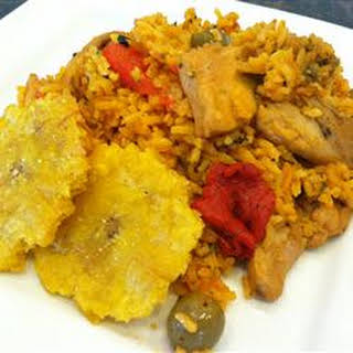 Josephine's Puerto Rican Chicken and Rice.