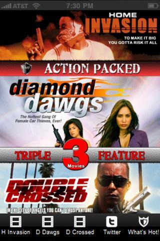 Action Triple Feature Volume 1