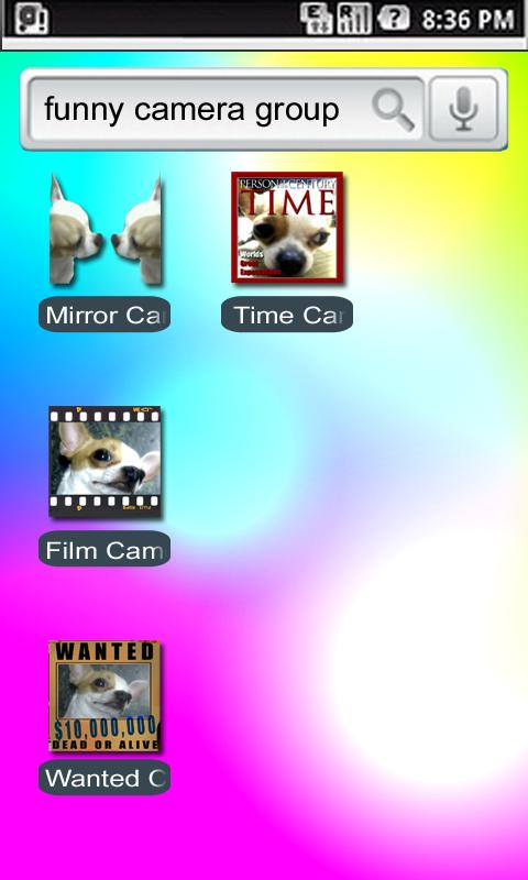 Mirror Camera- screenshot