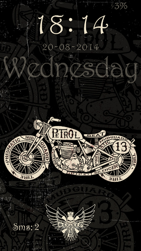 Tattoo Moto Live Locker Theme