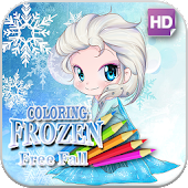 Frozen Coloring Fall