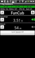 Screenshot of FrSky Dashboard