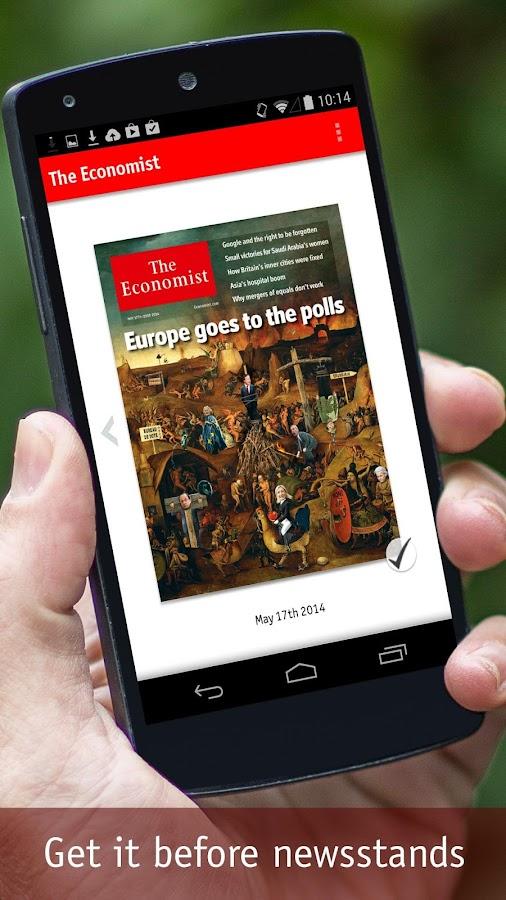 The Economist- screenshot