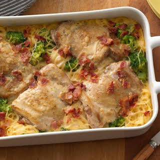 Smothered Chicken Casserole.