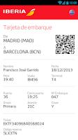 Screenshot of Iberia